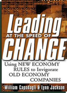 Leading At The Speed Of Change by Bill Capodagli and Lynn Jackson
